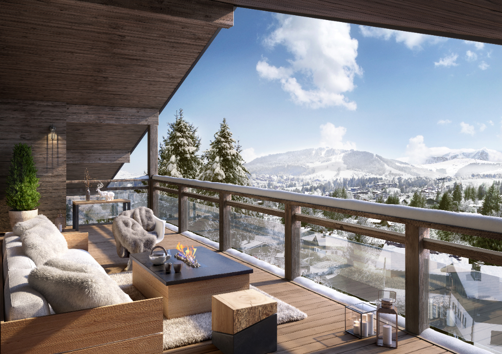 """Apartment """"Stallion Exclusive Lodge"""" - Megève - 4 rooms Accommodation in Megeve"""