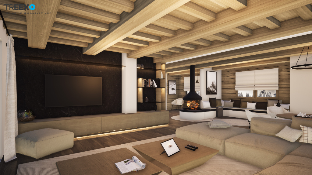 Chalet close to the slopes for sale in Courchevel La Tania. Chalet in La Tania
