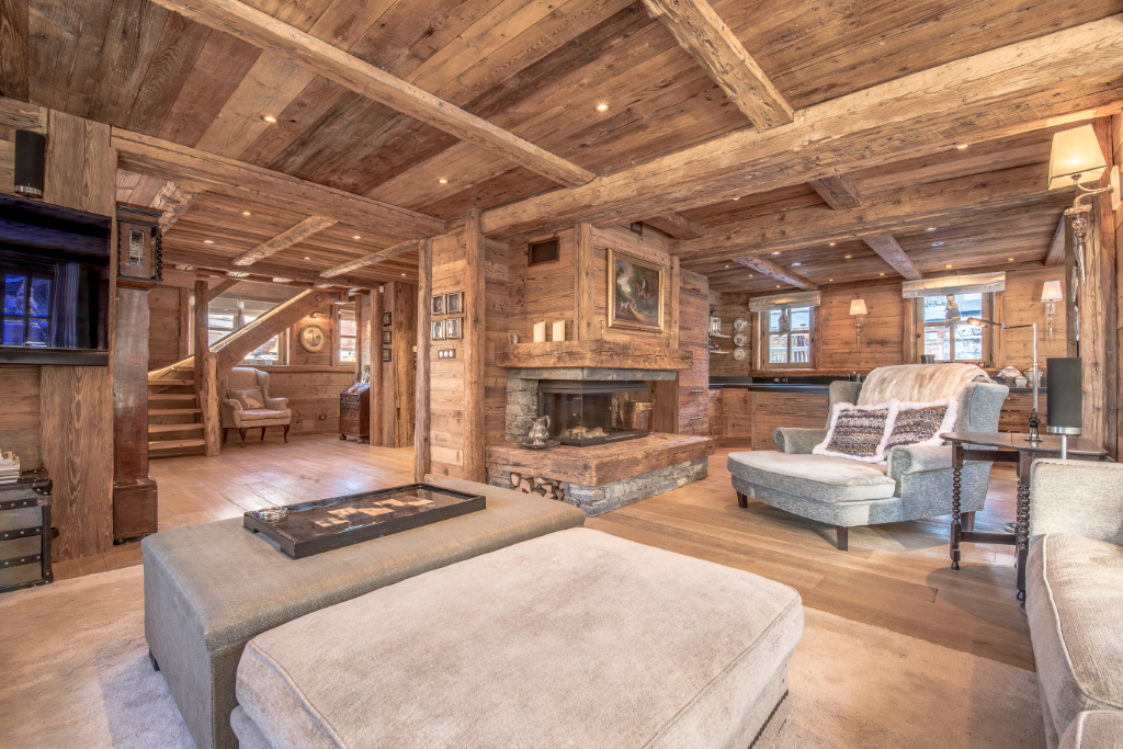 Family chalet 300 sqm - 5 en-suite bedrooms - SPA swimming pool - Courchevel 1850 Chalet in Courchevel
