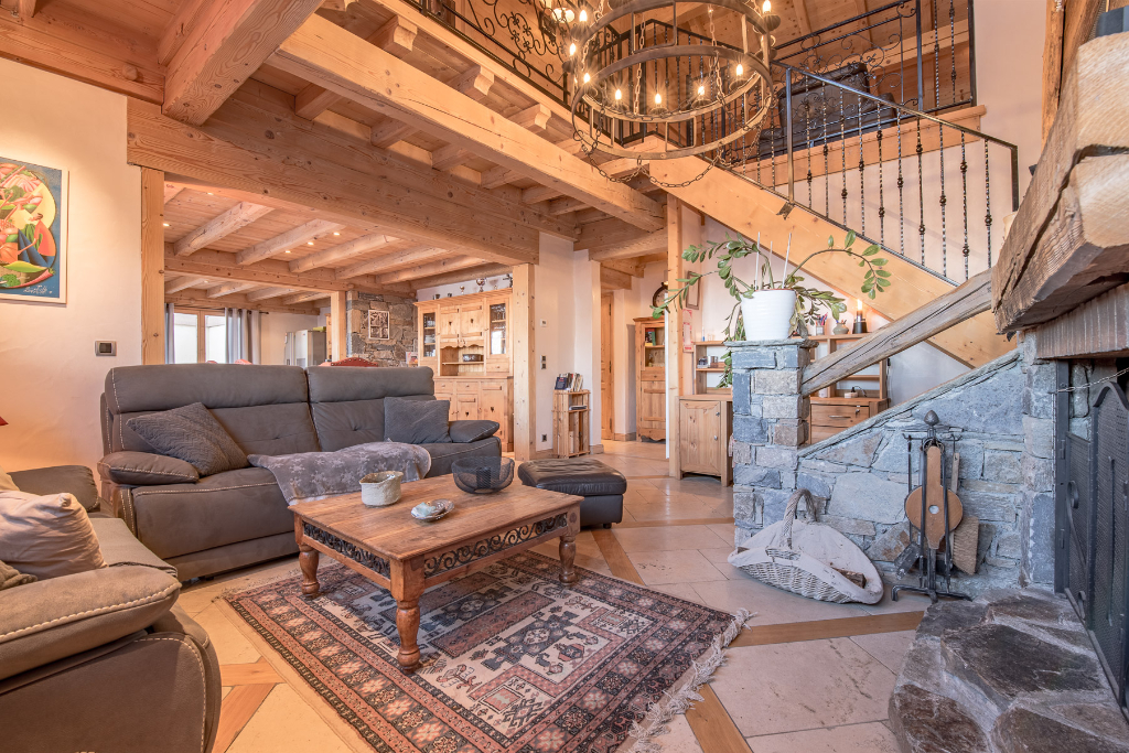 A 4 bedroom apartment like a chalet in Courchevel 1650 - 1743 sq.ft. Chalet in Courchevel