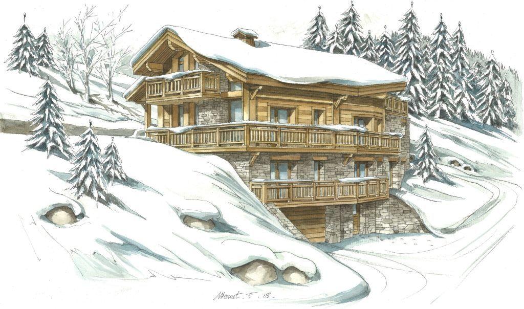 Apartment Meribel Les Allues 6 room (s) Accommodation in Meribel