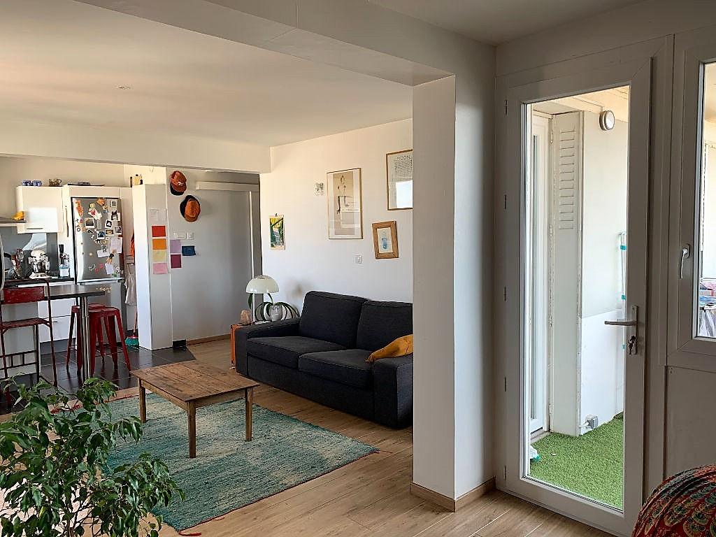 Appartement Toulouse Minimes 3 pièce(s) 65 m2 avec Balcon - Vue