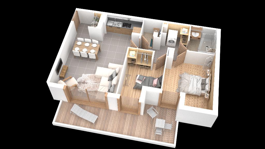 Vente appartement Samoens 339000€ - Photo 1