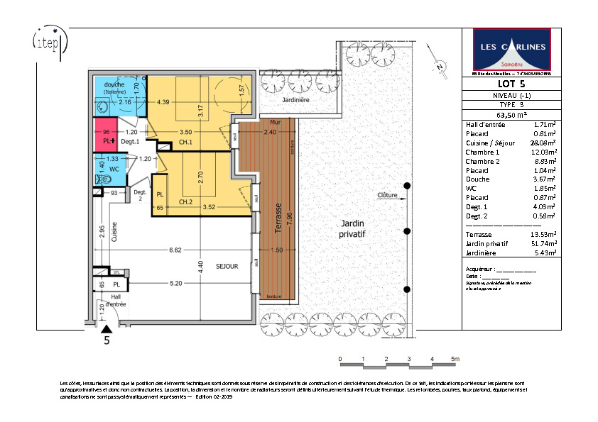 Vente appartement Samoens 339000€ - Photo 3