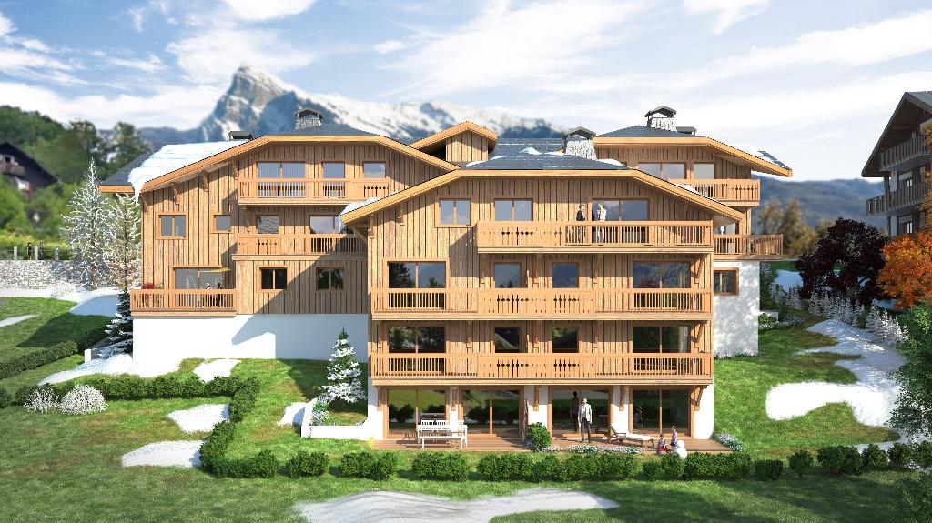 Vente appartement Samoens 575000€ - Photo 1
