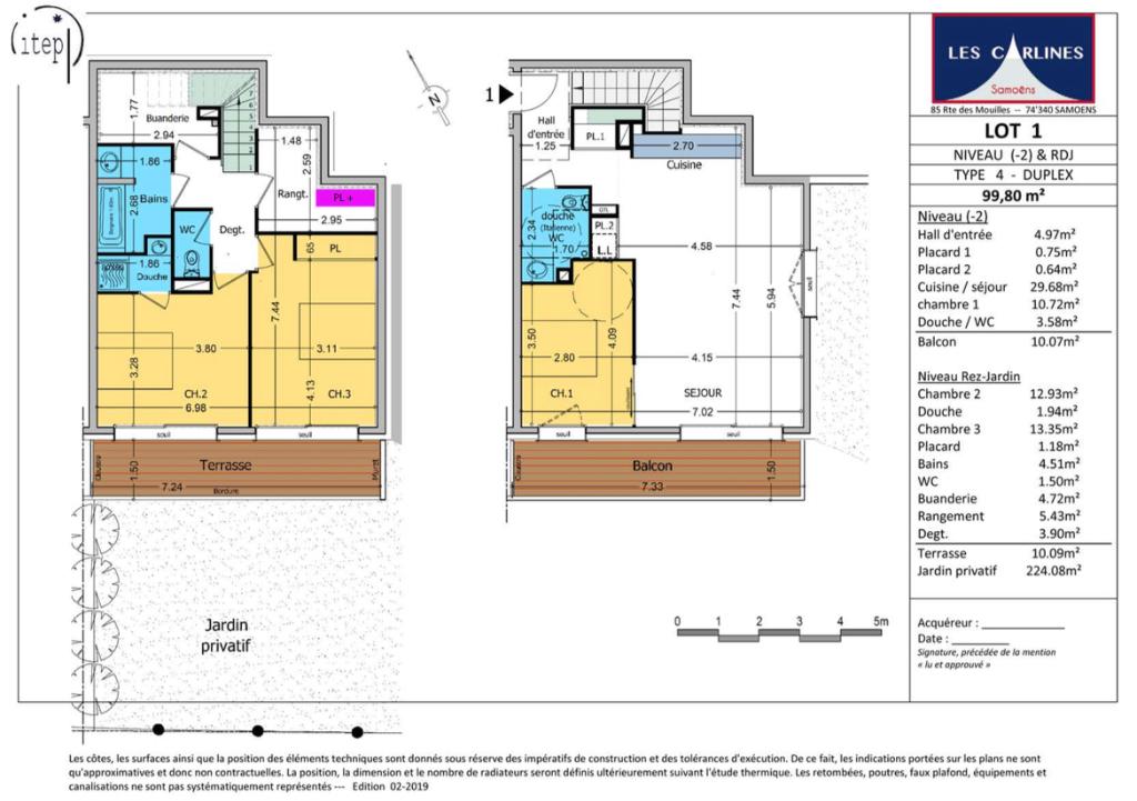 Vente appartement Samoens 575000€ - Photo 2