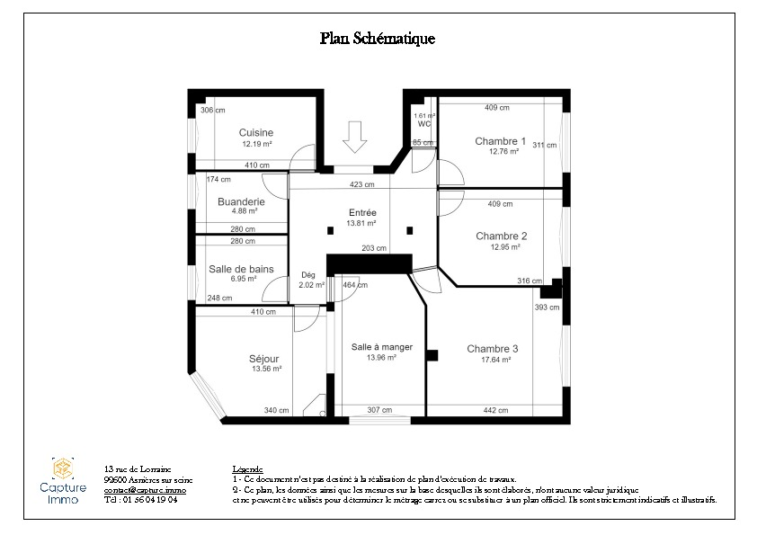 Vente appartement Asnieres sur seine 846000€ - Photo 10