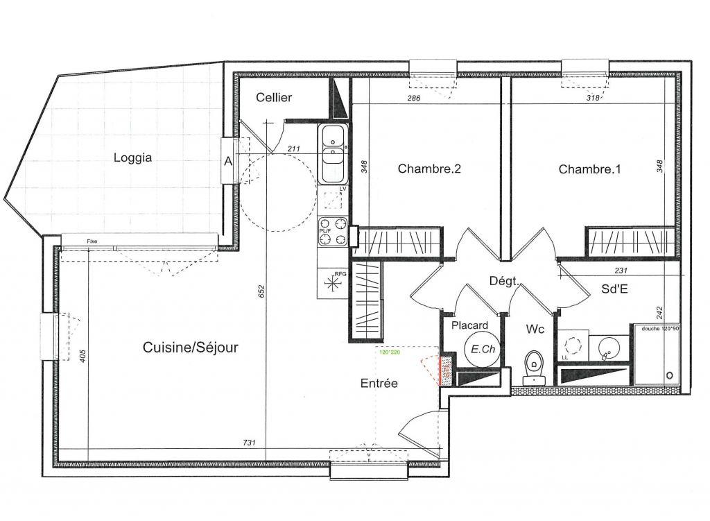 Sale apartment St cyprien 243400€ - Picture 2