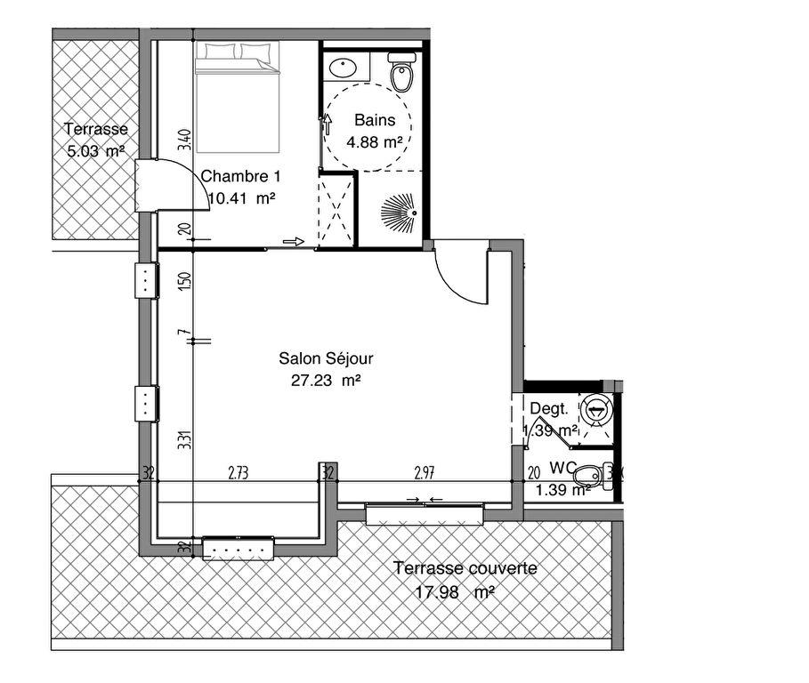 Sale apartment Saint cyprien 155000€ - Picture 4