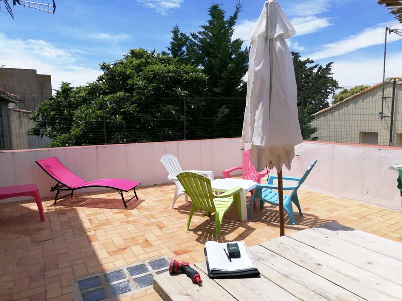 PHOTO1 - VENTE Appartement Agde ,3 pièces, terrasse de 40m² et place de parking.