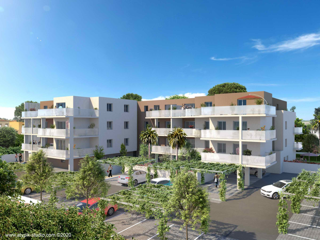 PHOTO1 - Vente appartement neuf à Marseillan
