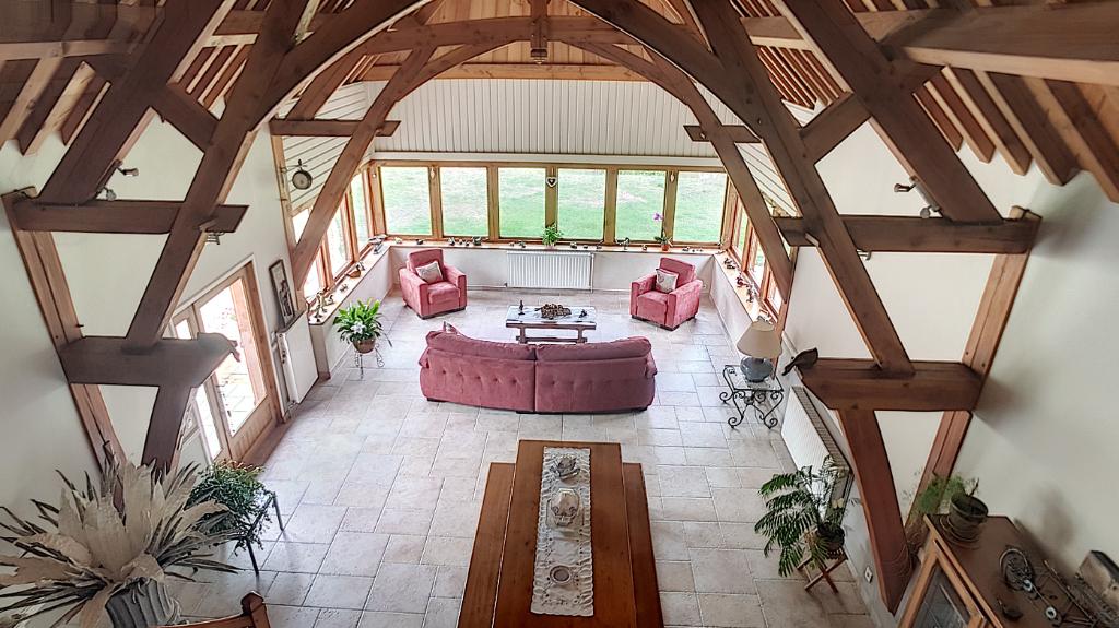 Maison à vendre - Pour Amoureux de la nature et des grands volumes Maison Pruniers En Sologne 7 pi