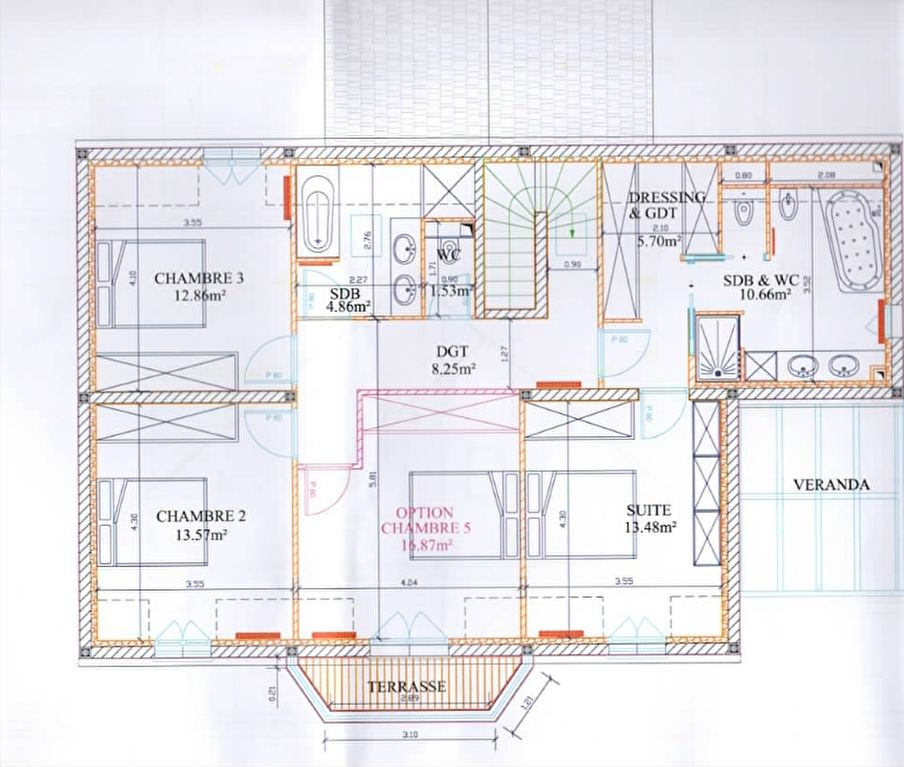 Maison 7 pièce(s) 204 m²                78860 SAINT NOM LA BRETECHE