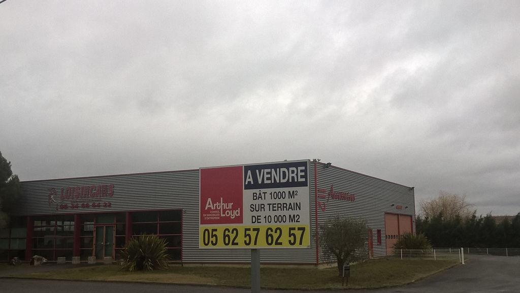 BATIMENT D'ACTIVITE AVEC SHOWROOM COMMERCIAL  A VENDRE TOULOUSE SUD
