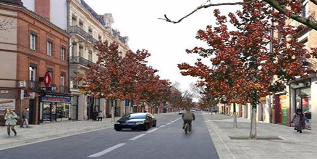 A louer Bureaux rénovés Rue Bayard à Toulouse - 225 m2