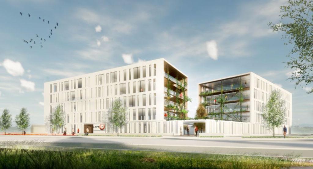 Bureaux neufs - Toulouse  Borderouge - 2.500 m2