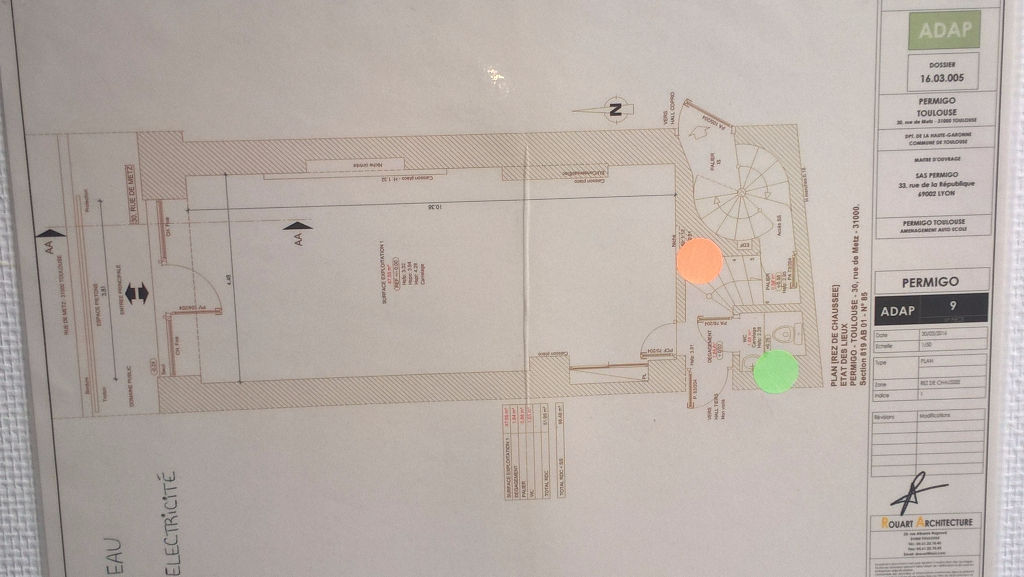 Local commercial Toulouse 90 m2