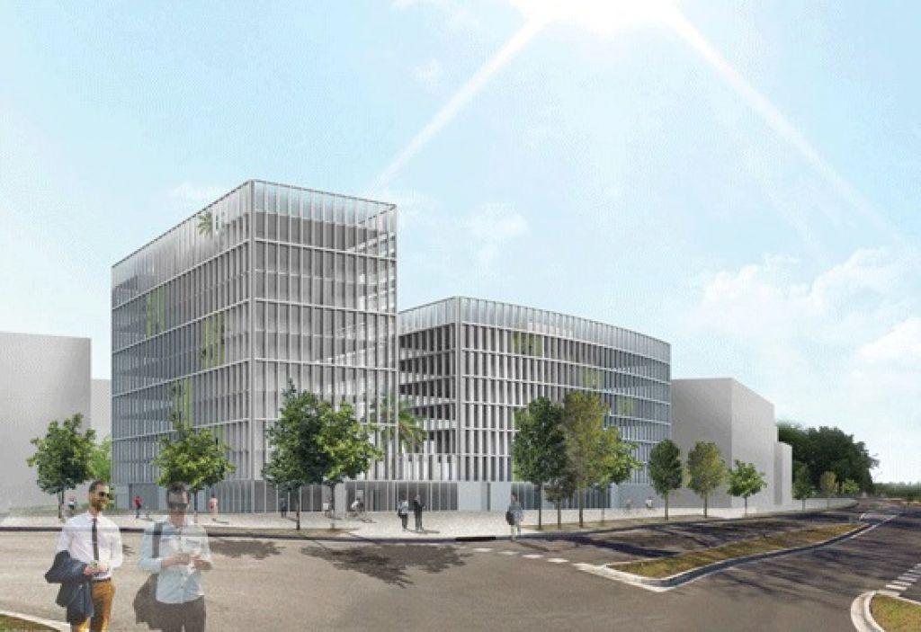 Bureaux neufs à louer  - Toulouse -  La Cartoucherie -1.506m2 divisibles à partir de 260m2
