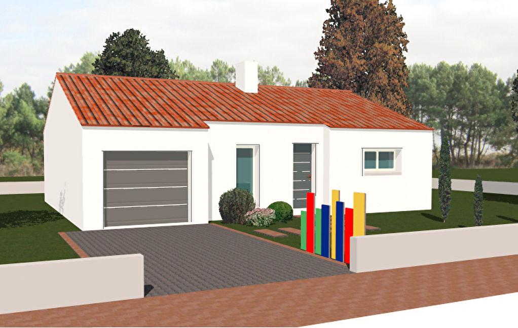 maison basse consommation proche plage sauzaie bretignolles sur mer 85470. Black Bedroom Furniture Sets. Home Design Ideas