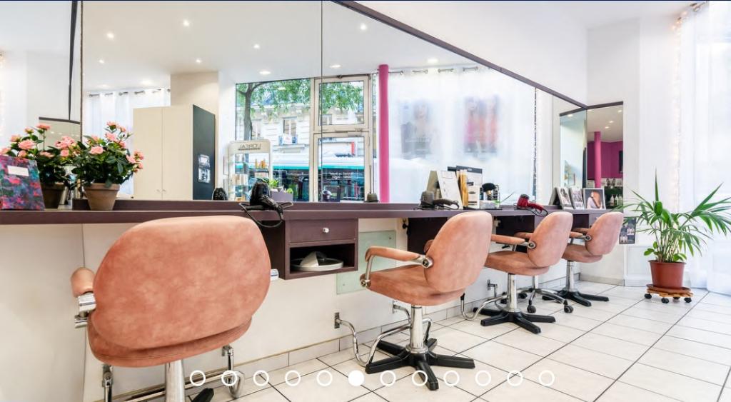 75 - Paris 9ème - Très beau salon de coiffure à céder - Salon de Coiffure Esthétique Parfumerie