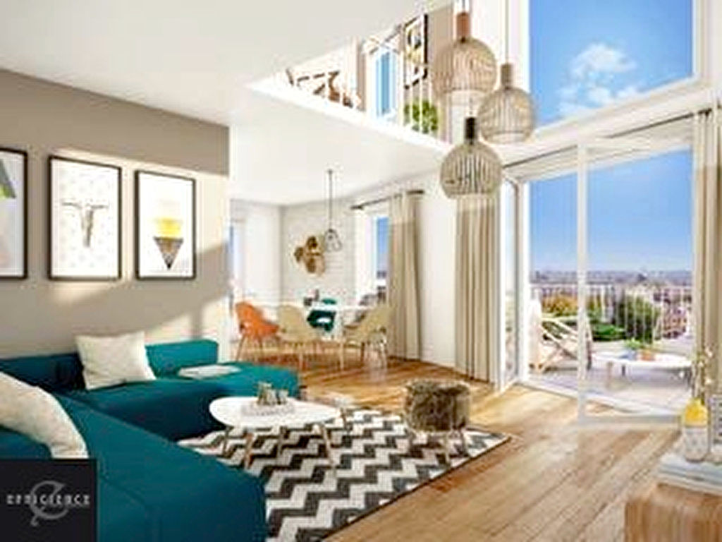 A vendre appartement t2 2 pi ces 1 chambre dans programme for Prix chambre etudiant
