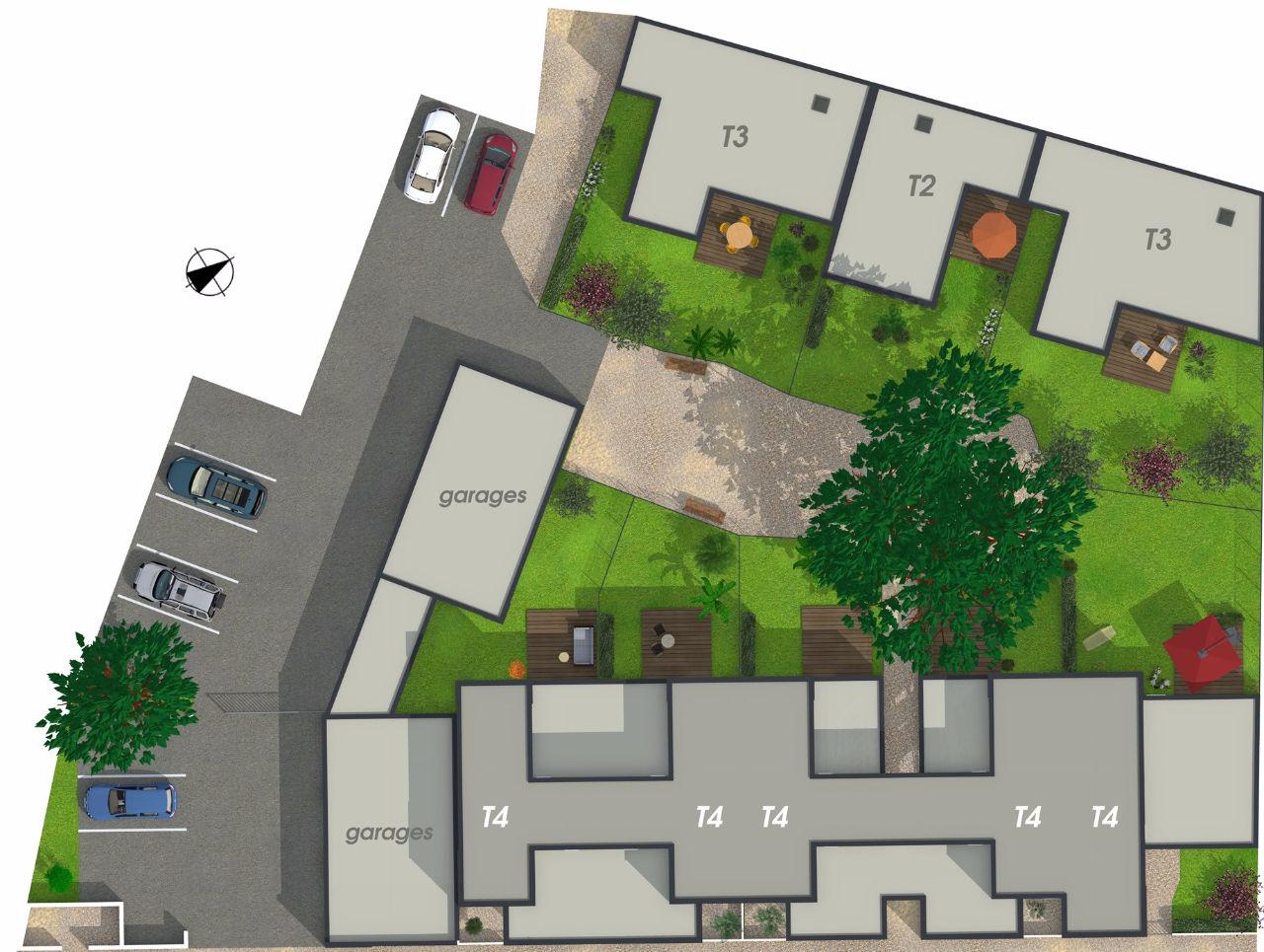 a vendre biscarrosse maison 3 chambres et garage dans r sidence s curis e frais de notaire. Black Bedroom Furniture Sets. Home Design Ideas