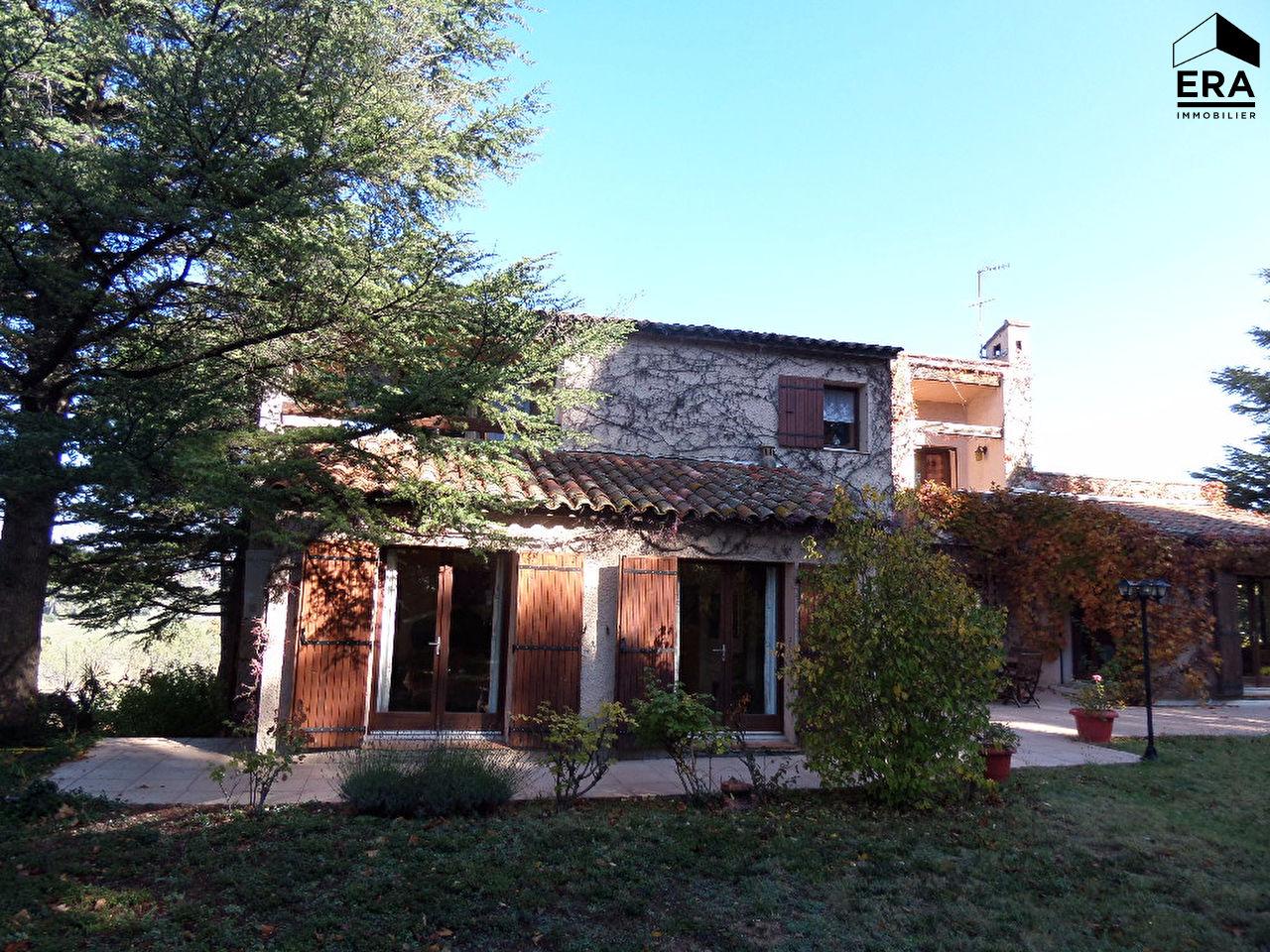 Achat immobilier villa type six avec grand terrain aix for Achat maison sud