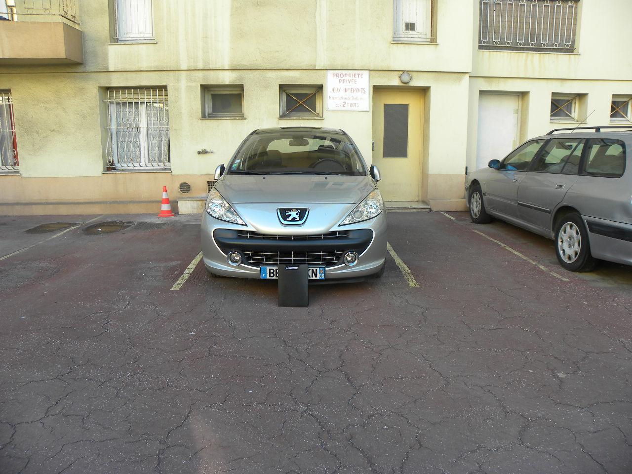 Vente garage parking nice 06000 sur le partenaire for Simulation pret foncier