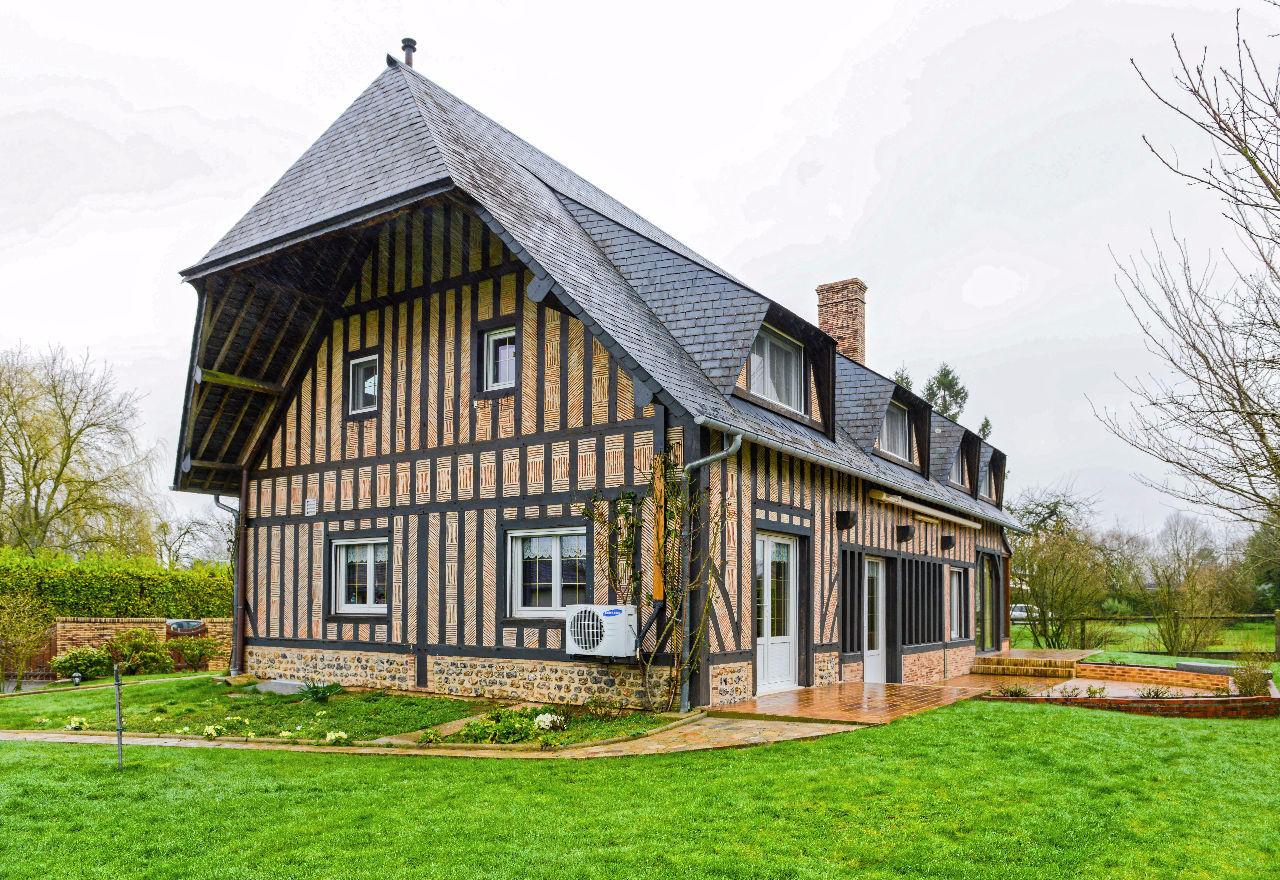 Maison thiberville 6 pi ce s 170 m2 thiberville 27230 for Agrandissement maison 170 m2