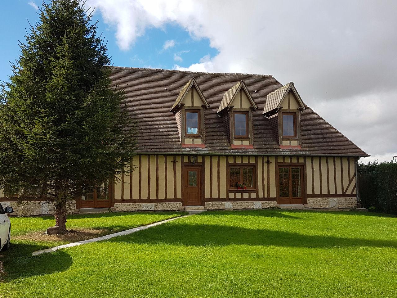 Annonce vente maison criquebeuf la campagne 27110 195 for Immobilier maison
