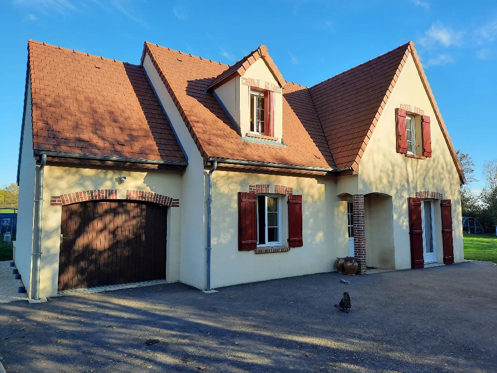 Secteur Puisaye maison 120m² . (6 pièces)