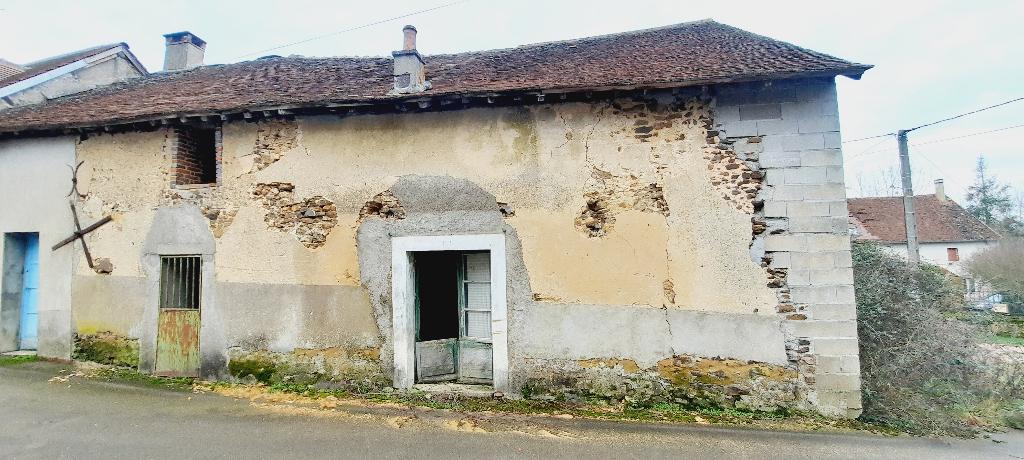 Secteur Saint Sauveur en Puisaye. Grange 107m²