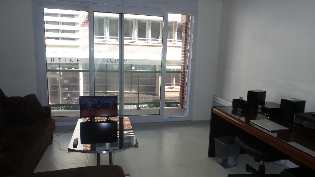 appartement F1  avec balcon en centre ville