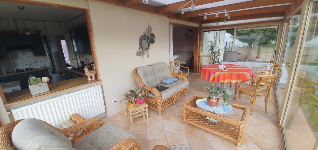 pavillon individuel 128 m² habitable  de plain pied double garage  quartier saint acheul