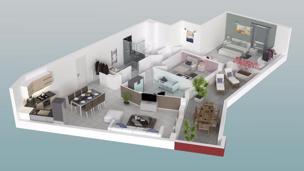 vente appartement 4 pièces VILLENEUVE LES AVIGNON 30400