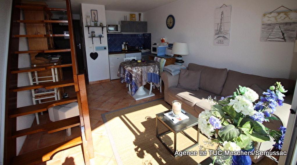 Vente Appartement 2 pièces MESCHERS SUR GIRONDE 17132