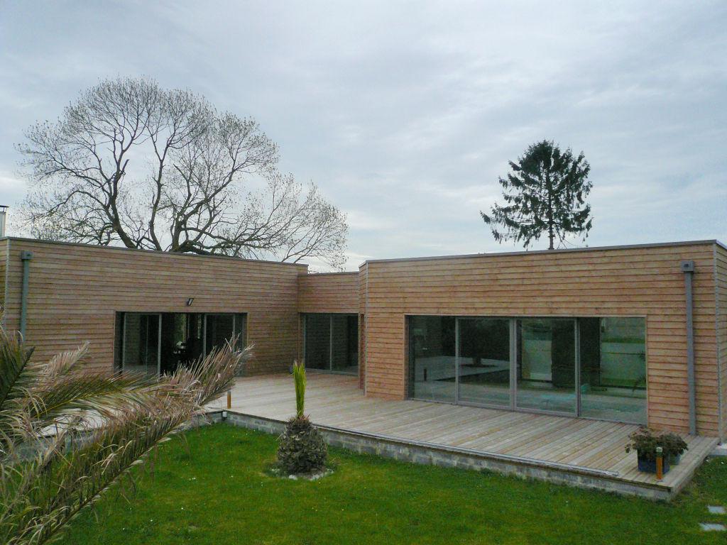 Cambrai caudry villa ossature bois climatique cambrai 59400 for Villa ossature bois