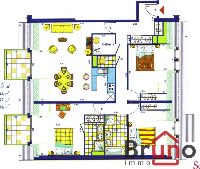 Deluxe sale apartment Le crotoy 415500€ - Picture 12