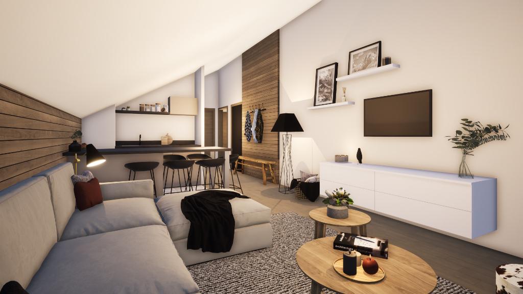 MERIBEL APARTMENT - 3 rooms Accommodation in Meribel
