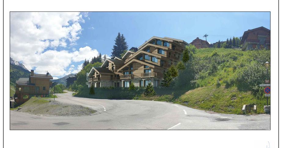 "Photo of Apartment ""LES CHALETS"" - T3 Cabin - 80.90 m²"