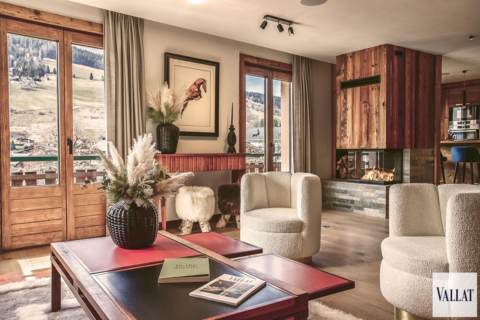 4 room apartment Megève - Village Accommodation in Megeve