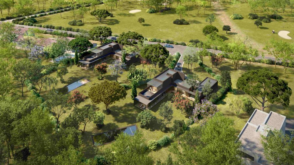Beauvallon Golf Splendid contemporary villa Accommodation in Grimaud
