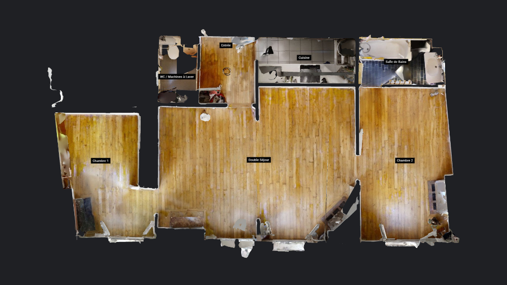 Vente Appartement de 4 pièces 61 m² - PARIS 75019 | AVL IMMOBILIER LAUMIERE - AR photo2