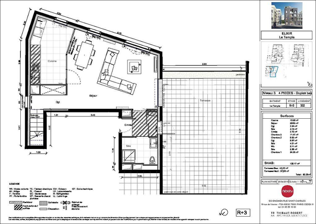 Vente Appartement de 4 pièces 109 m² - ENGHIEN LES BAINS 95880   PIERRE INVEST - AR photo2