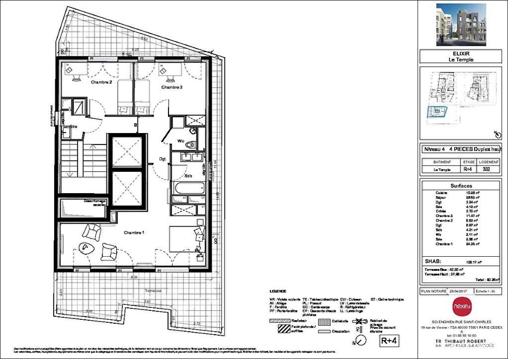 Vente Appartement de 4 pièces 109 m² - ENGHIEN LES BAINS 95880   PIERRE INVEST - AR photo3