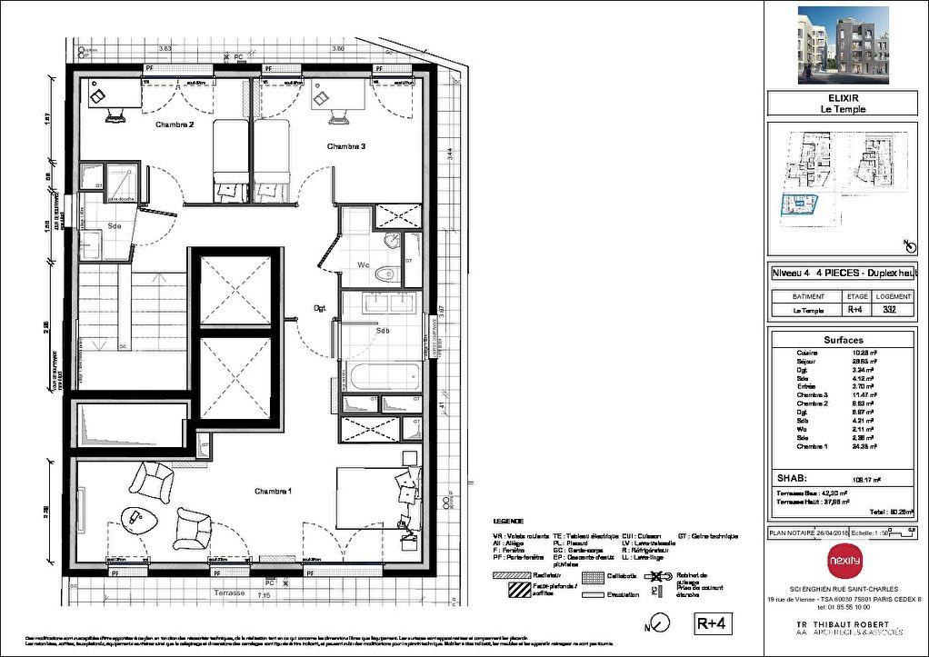 Vente Appartement de 4 pièces 109 m² - ENGHIEN LES BAINS 95880   PIERRE INVEST - AR photo4