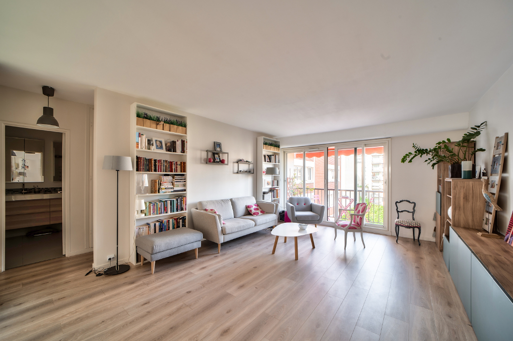 Vente Appartement de 3 pièces 70 m² - BOULOGNE BILLANCOURT 92100 | RIVE OUEST IMMOBILIER - BOULOGNE BILLANCOURT - AR photo1
