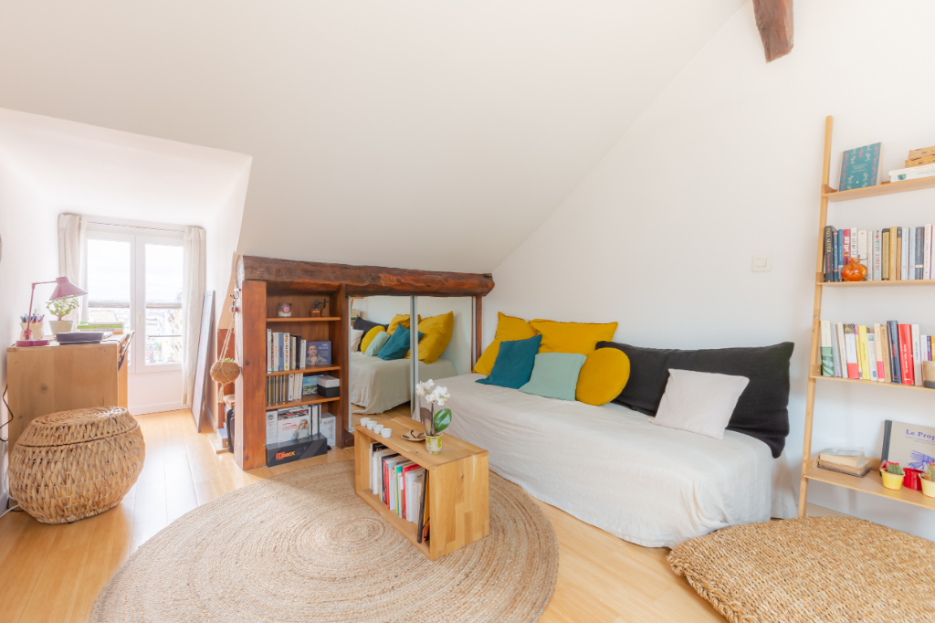 Vente Appartement de 1 pièces 24 m² - PARIS 75018   ACOPA IMMOBILIERE - ORDENER - AR photo2