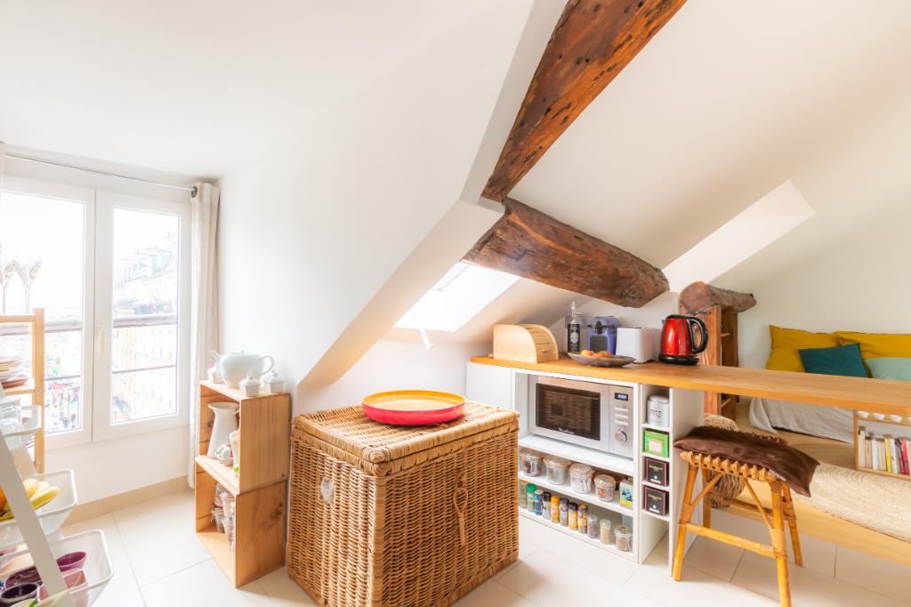 Vente Appartement de 1 pièces 24 m² - PARIS 75018   ACOPA IMMOBILIERE - ORDENER - AR photo3