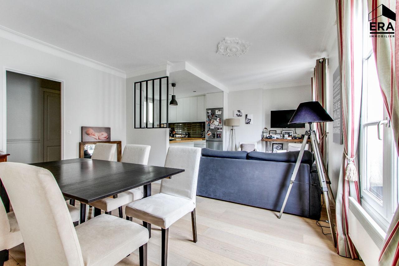 Vente appartement paris batignolles monceaux 17e for Recherche appartement atypique paris